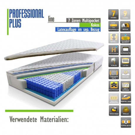 PROFESSIONAL line PLUS 180 x 200