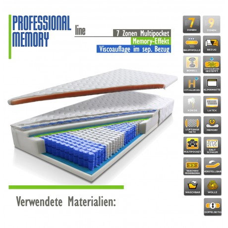 PROFESSIONAL line MEMORY 180 x 200