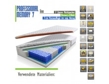 PROFESSIONAL line MEMORY 7 180x200