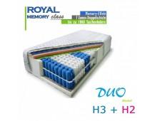 H2+H3 DUO ROYAL class memory 180 x 200