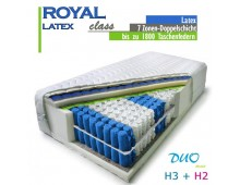 H2+H3 DUO ROYAL class latex 170 x 190